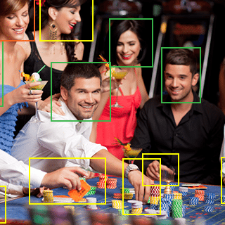 Asset tracking, asset control, security, facial recognition