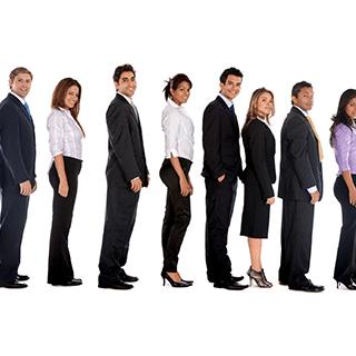 Video analytics for staff management